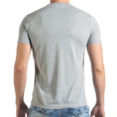Tricou bărbați Just Relax gri il140416-31 3