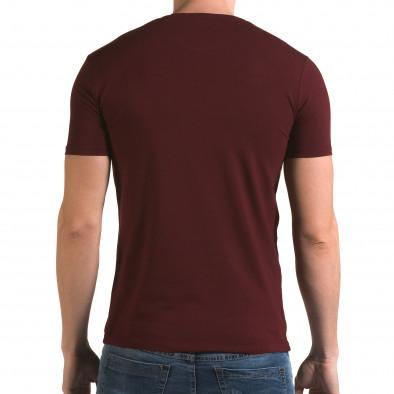 Tricou bărbați Lagos roșu il120216-45 3
