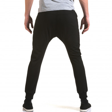 Pantaloni baggy bărbați Jack Berry negri it090216-48 3