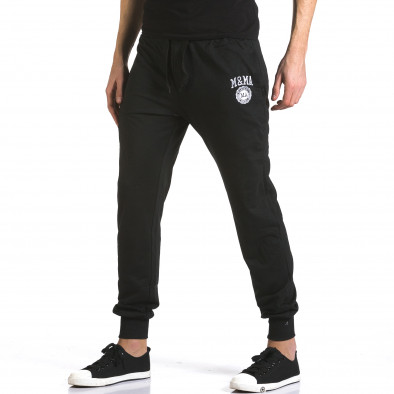 Pantaloni bărbați Marshall negru it110316-17 4