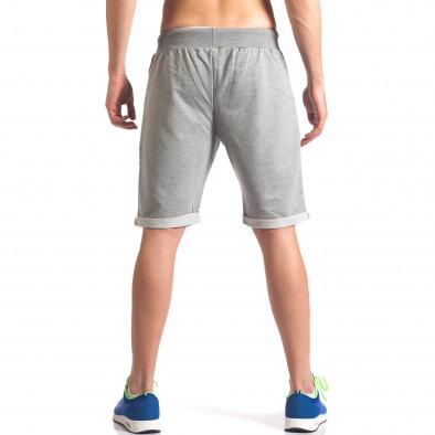 Pantaloni scurți bărbați New Men gri it260416-23 3
