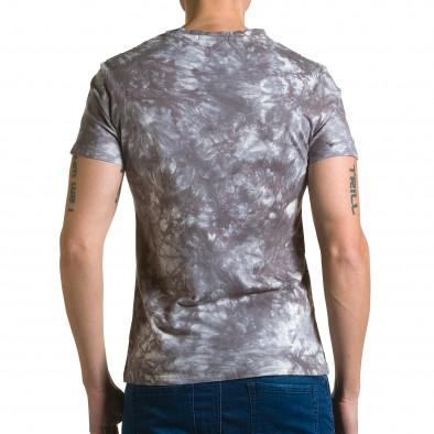 Tricou bărbați P2P gri ca190116-45 3