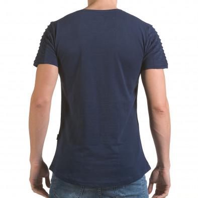 Tricou bărbați Click Bomb albastru il170216-69 3