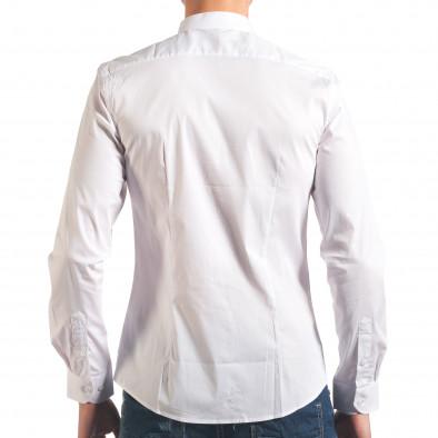 Cămașă cu mânecă lungă bărbați Akusawa albă it250416-101 3