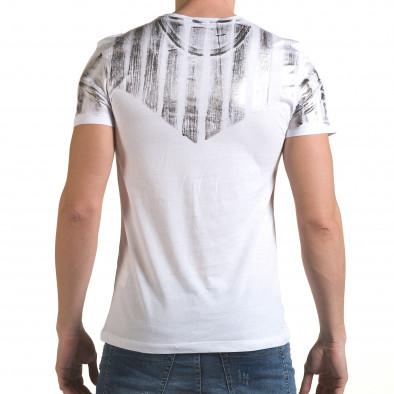Tricou bărbați SAW alb il170216-50 3