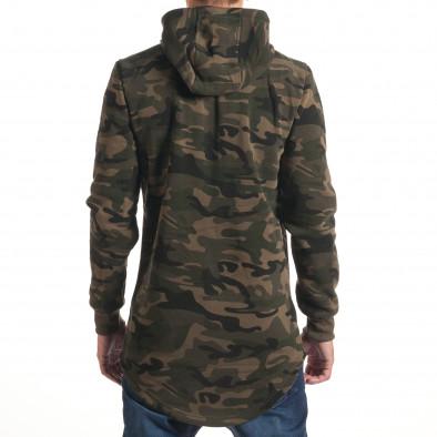Hanorac bărbați New Black camuflaj it240816-73 3