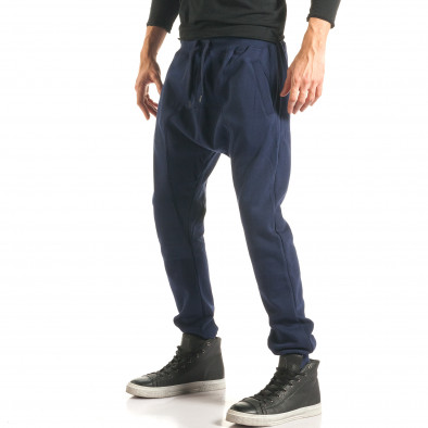 Pantaloni baggy bărbați The Power albaștri it181116-44 4