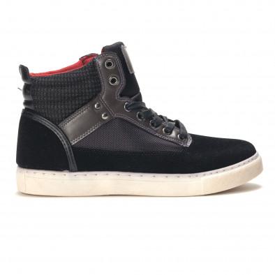 Pantofi sport bărbați Reeca negri it100915-22 2