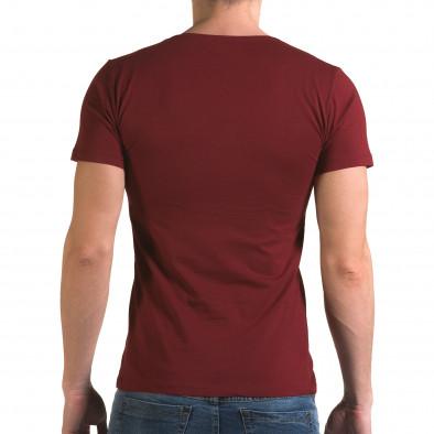 Tricou bărbați Lagos roșu il120216-27 3