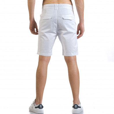 Pantaloni scurți bărbați Marshall albi it110316-37 3