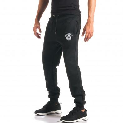 Pantaloni bărbați Marshall negru it160816-7 4