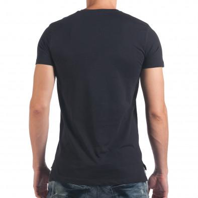 Tricou bărbați SAW albastru il060616-32 3