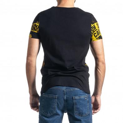 Tricou bărbați Lagos negru tr010221-11 3