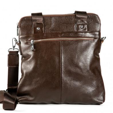 Geanta de umar Fashionmix maro bărbați 1182-brown 3