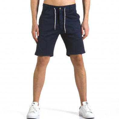 Pantaloni scurți bărbați Marshall albaștri it110316-41 2