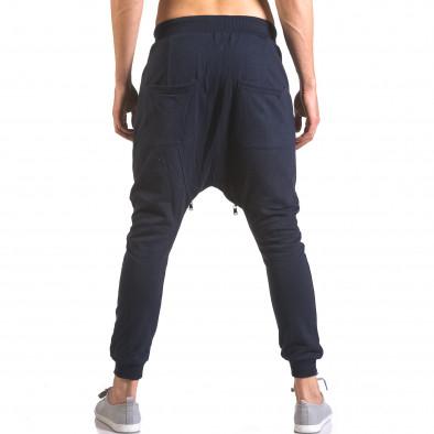 Pantaloni baggy bărbați Devil Slayer albaștri ca050416-50 3