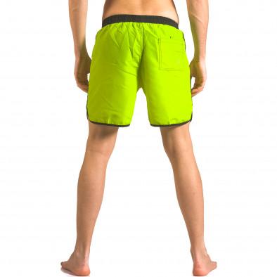 Costume de baie bărbați Yaliishi verde ca050416-29 3