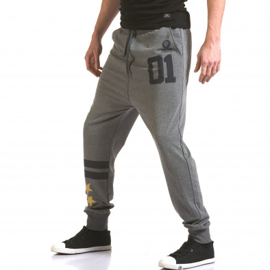 Pantaloni bărbați Franklin gri il170216-137 4