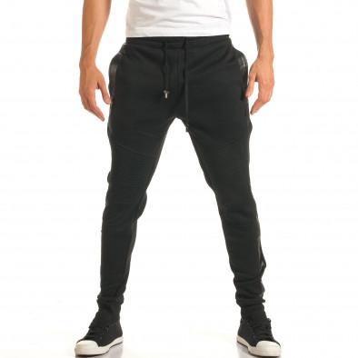 Pantaloni bărbați Furia Rossa negru it191016-38 2