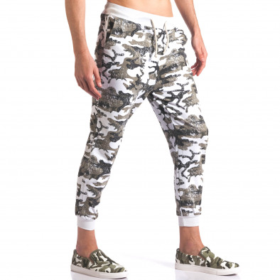 Pantaloni bărbați FM camuflaj it260416-34 4