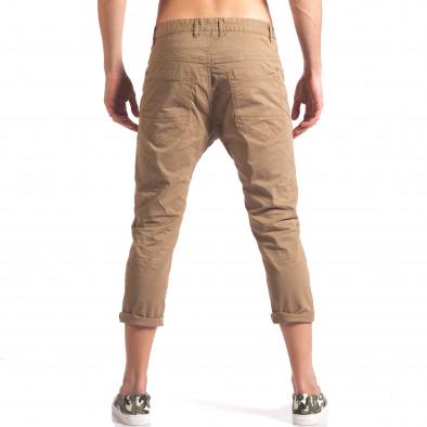 Pantaloni bărbați TMK maro it250416-28 3