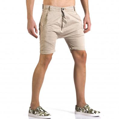 Pantaloni scurți bărbați Always Jeans bej it110316-35 4