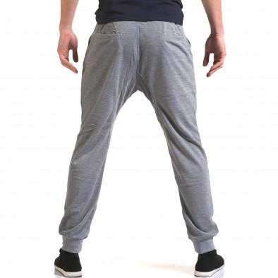 Pantaloni baggy bărbați Dress&GO gri it090216-38 3