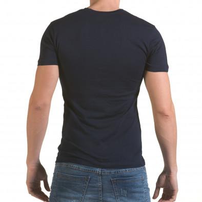 Tricou bărbați SAW albastru il170216-43 3