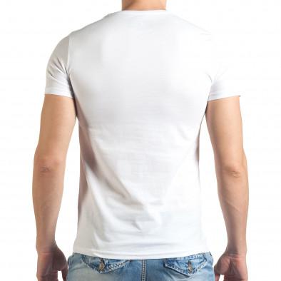 Tricou bărbați Just Relax alb il140416-51 3
