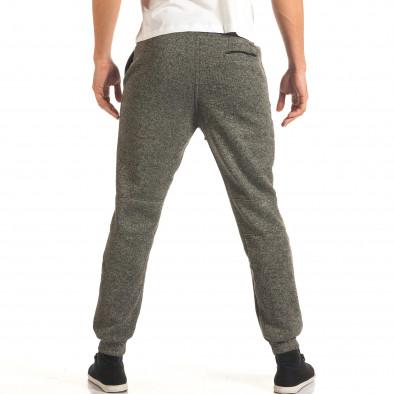 Pantaloni sport bărbați Bread & Buttons gri it191016-8 3