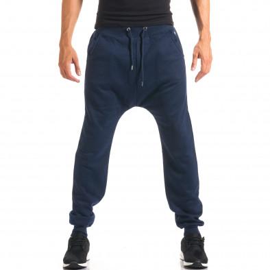 Pantaloni baggy bărbați Marshall albaștri it160816-21 4