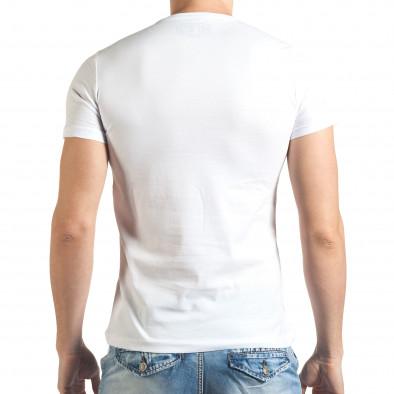 Tricou bărbați Just Relax alb il140416-22 3