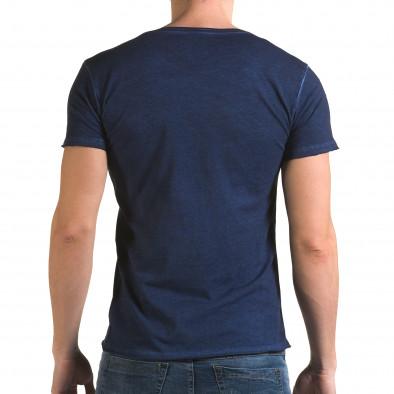 Tricou bărbați Lagos albastru il120216-4 3