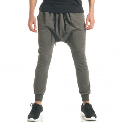 Pantaloni baggy bărbați Black Fox verzi it300317-25 2