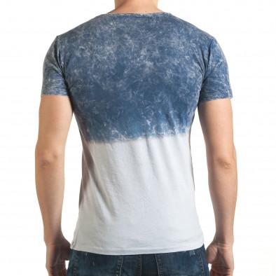Tricou bărbați Lagos albastru il140416-55 3