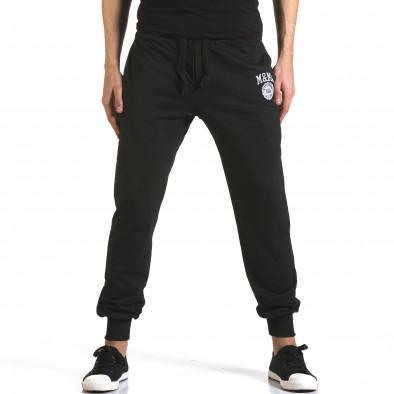 Pantaloni bărbați Marshall negru it110316-17 2