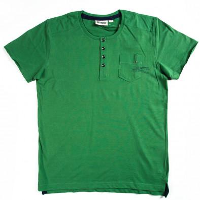 Tricou bărbați Marcus verde 070213-16 2