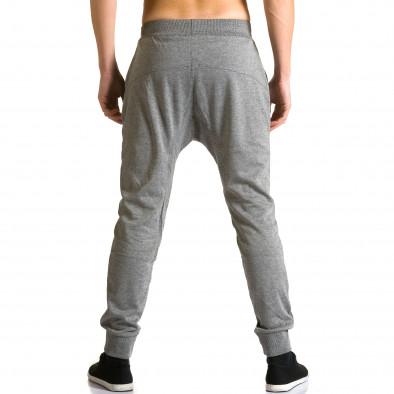 Pantaloni baggy bărbați Furia Rossa gri ca190116-17 3