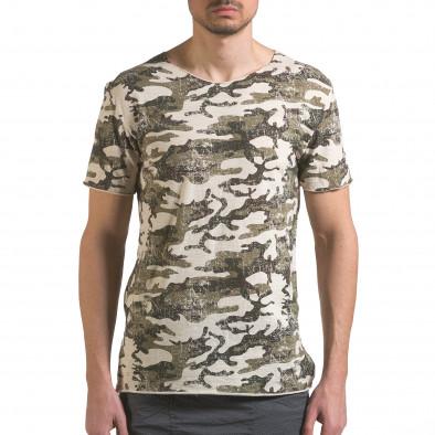 Tricou bărbați Wilfed camuflaj it110316-92 2