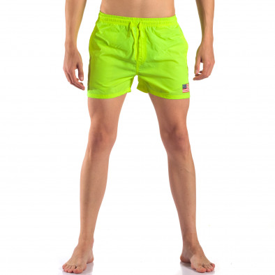 Costume de baie bărbați New Mentality verde it150616-26 2