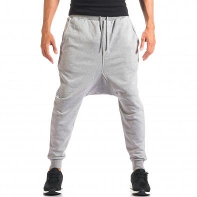 Pantaloni baggy bărbați Dontoki gri it160816-24 4
