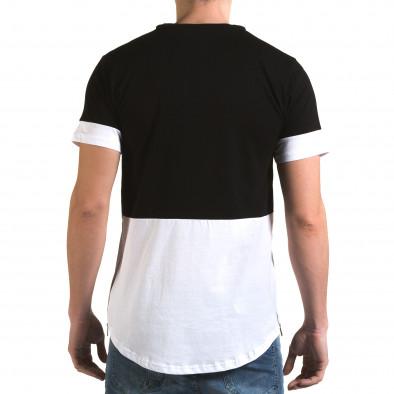 Tricou bărbați Man negru it090216-69 3