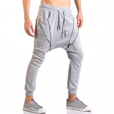 Pantaloni baggy bărbați Devil Slayer gri ca050416-49 4