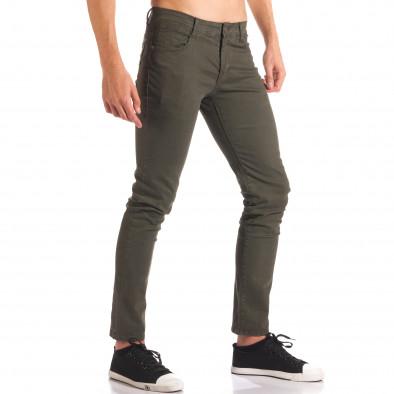 Pantaloni bărbați G-9 verzi it150816-5 4