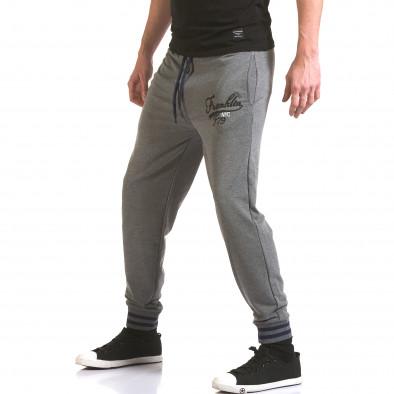 Pantaloni bărbați Franklin gri il170216-136 4