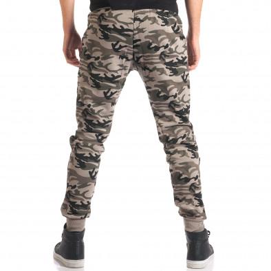 Pantaloni bărbați New Mentality camuflaj ca280916-9 3