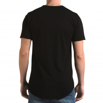 Tricou bărbați Man negru it090216-71 3