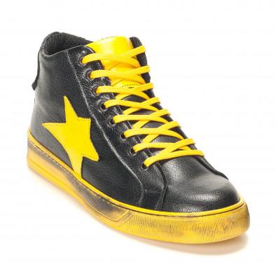 Teniși bărbați Shoes in Progress negri it141016-5 3