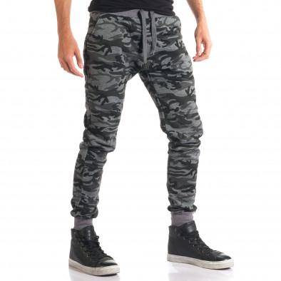 Pantaloni bărbați New Mentality camuflaj ca280916-10 4