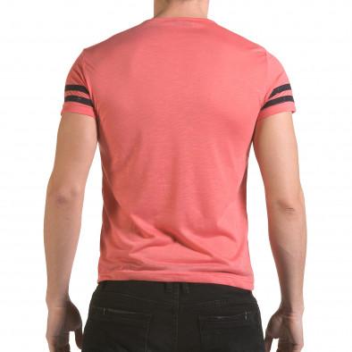 Tricou bărbați Franklin roz il170216-3 3